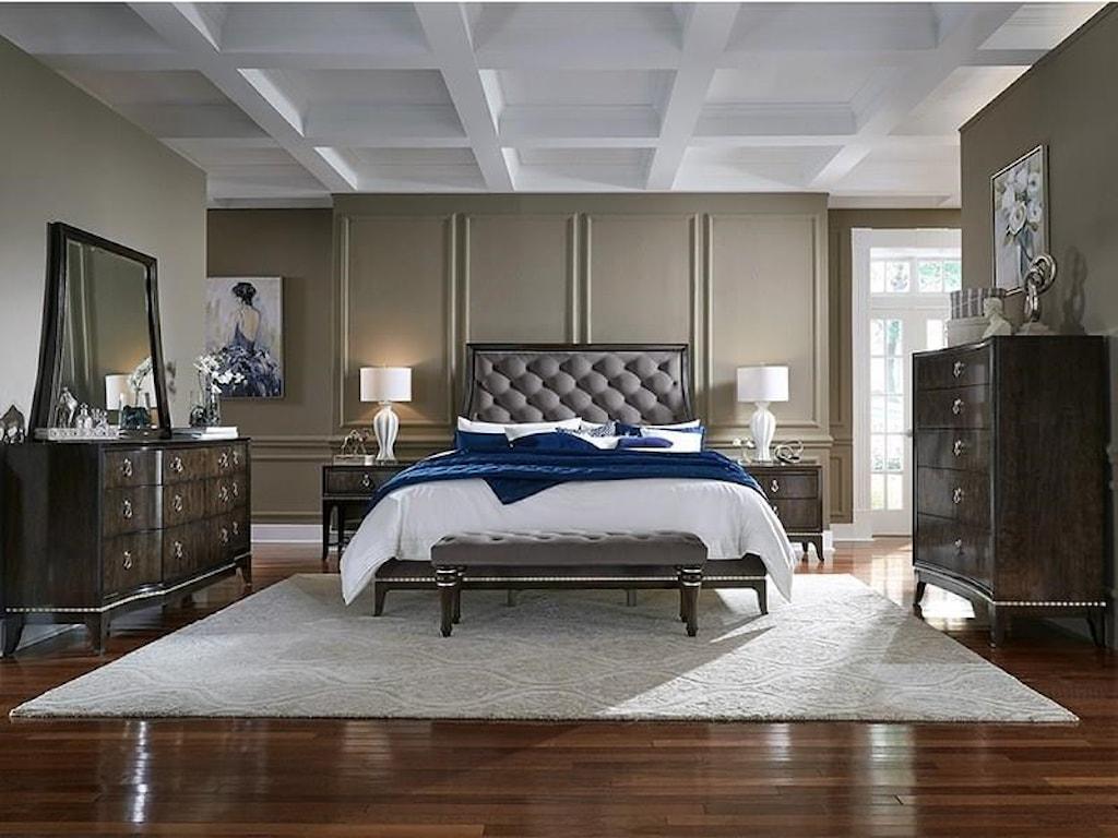 Najarian Essex Bedroom CollectionKing 6 Piece Bedroom Group