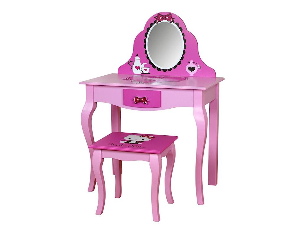 Najarian Hello Kitty Youth BedroomHello Kitty Vanity