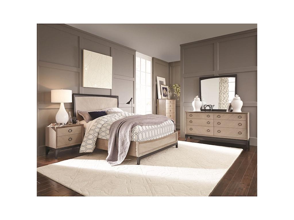 Najarian Nicole Queen Bedroom Group | Del Sol Furniture | Bedroom Groups