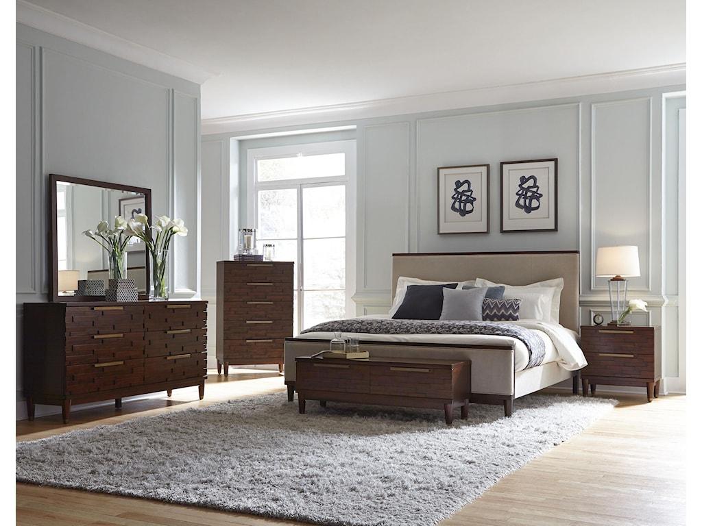 Najarian RodeoQueen Upholstered Bed
