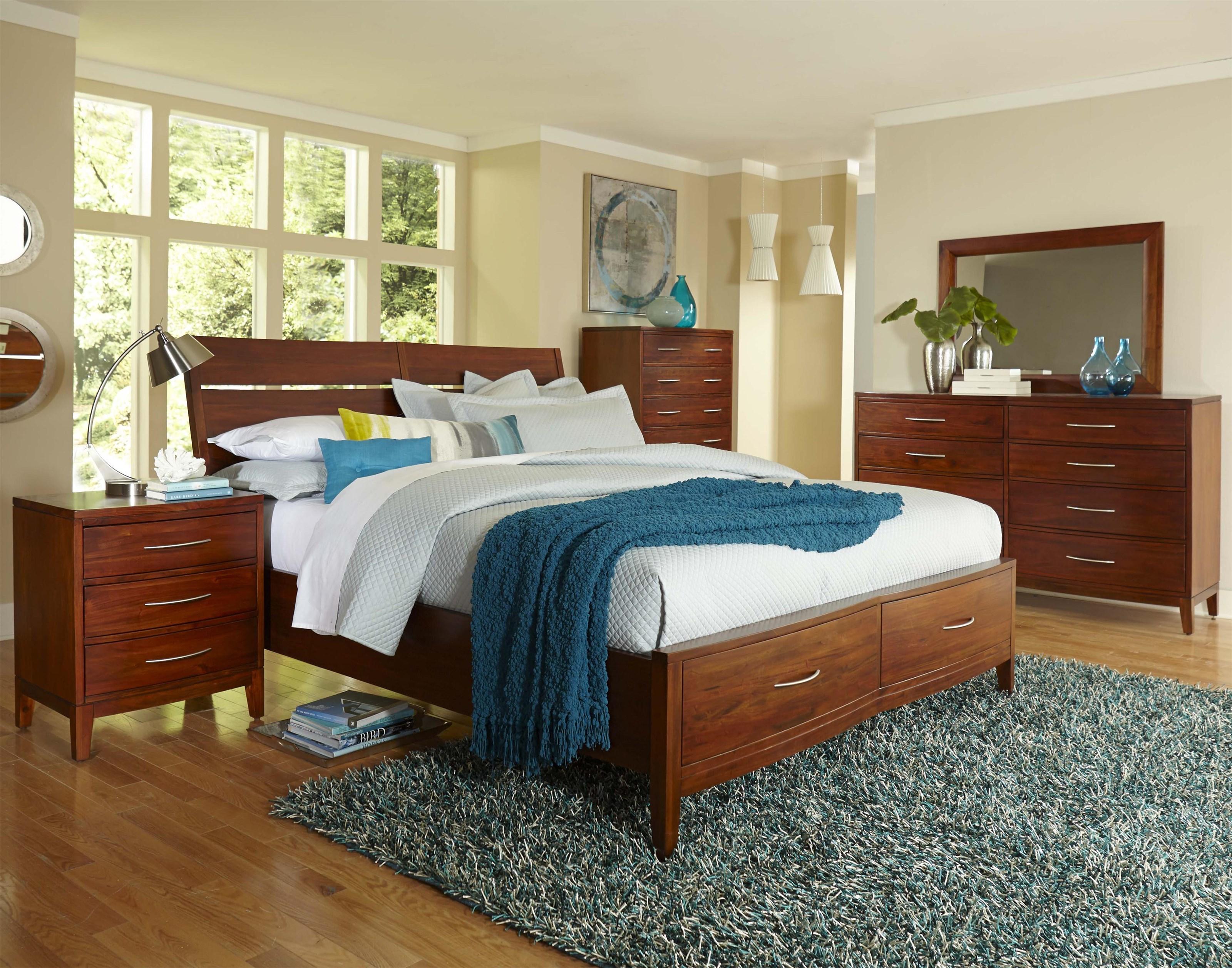 Superbe Napa Furniture Designs Boston Brownstone Queen Storage Bed | HomeWorld  Furniture | Platform Beds/Low Profile Beds