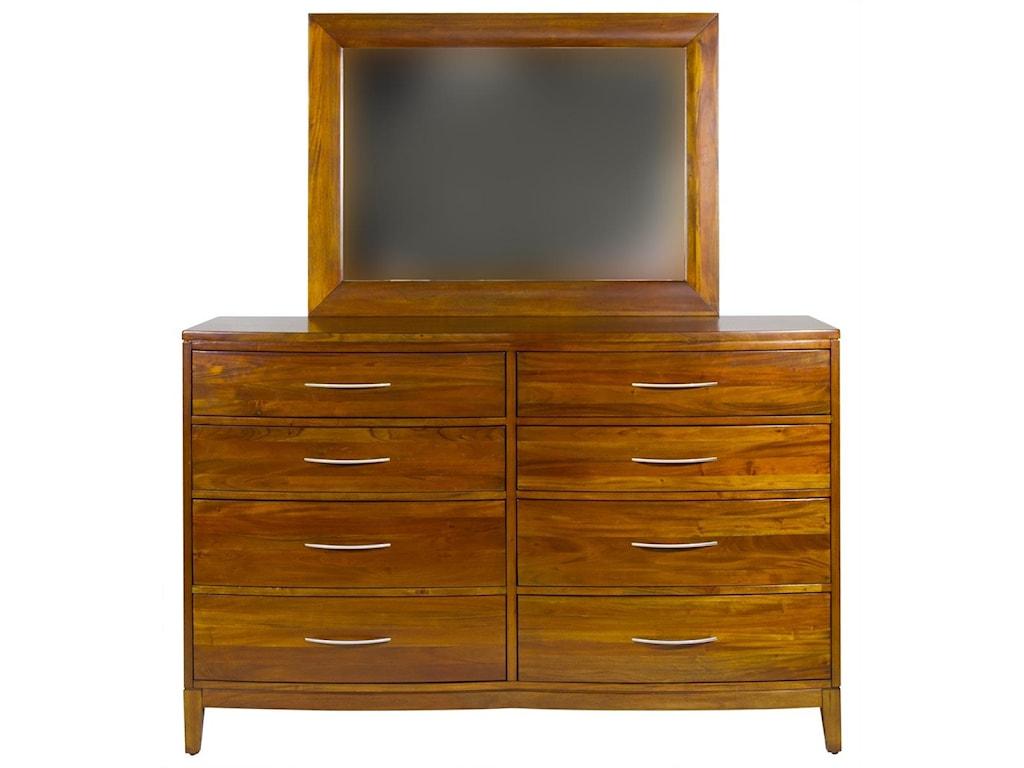 Napa Furniture Designs Boston BrownstoneMirror