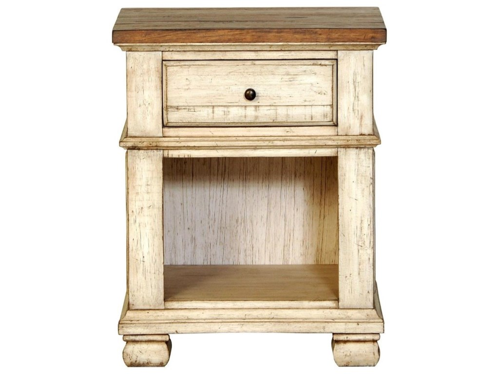 Napa Furniture Designs Belmont1 Drawer Night Stand