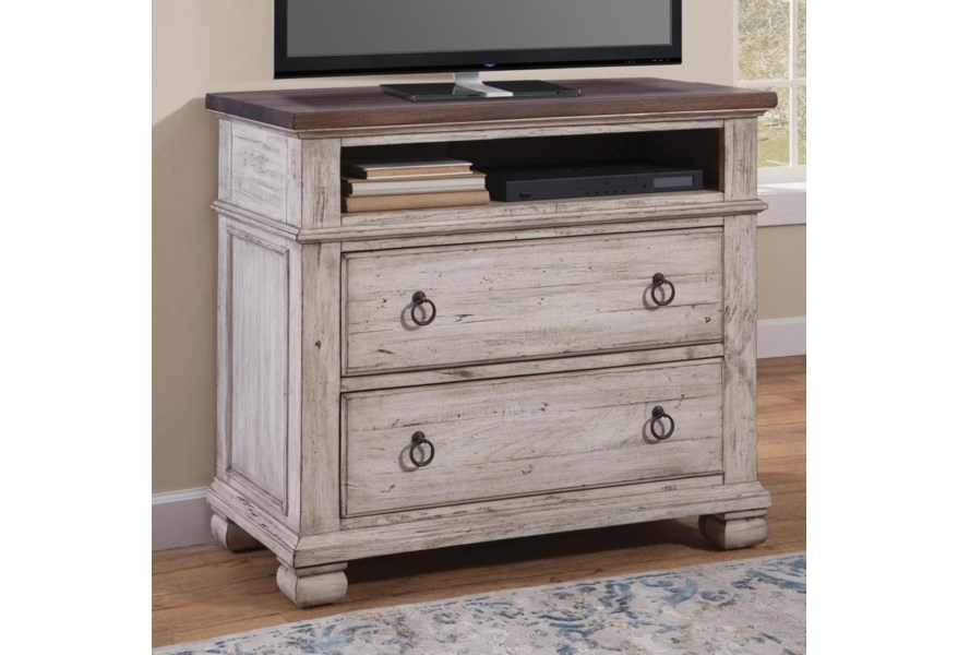 Napa Furniture Designs Belmont Media Chest With 2 Drawers