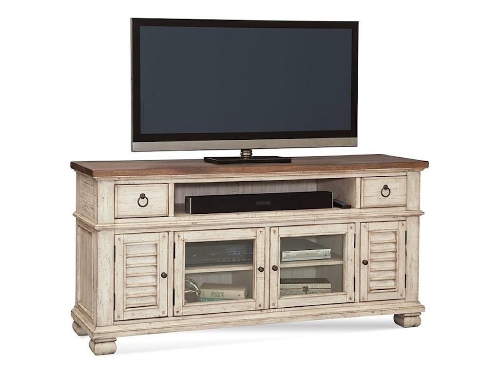 Napa furniture designs belmont 66 farmhouse entertainment console