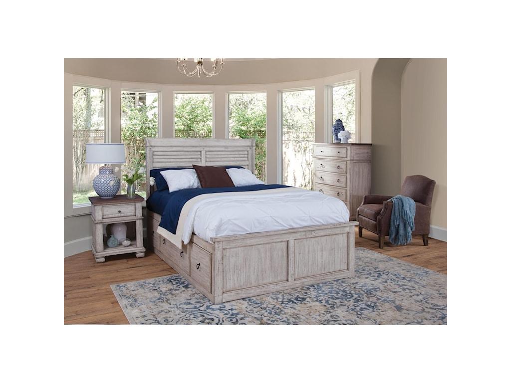 Napa Furniture Designs BelmontCalifornia King Captains Bed