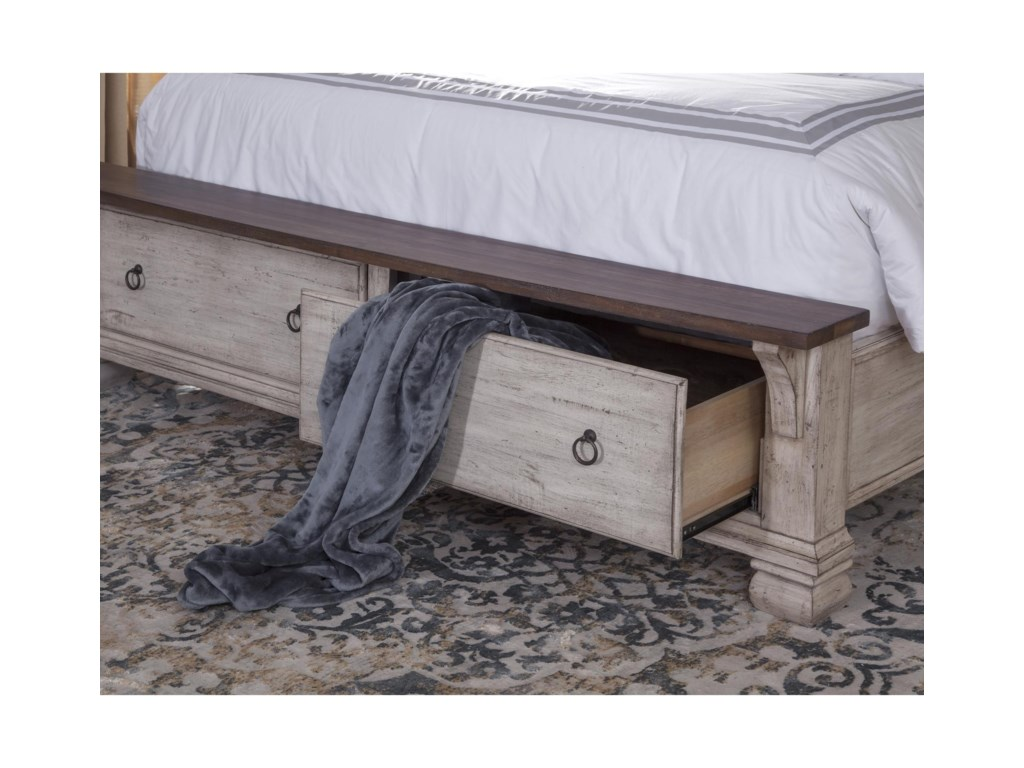Napa Furniture Designs BelmontKing Storage Bed