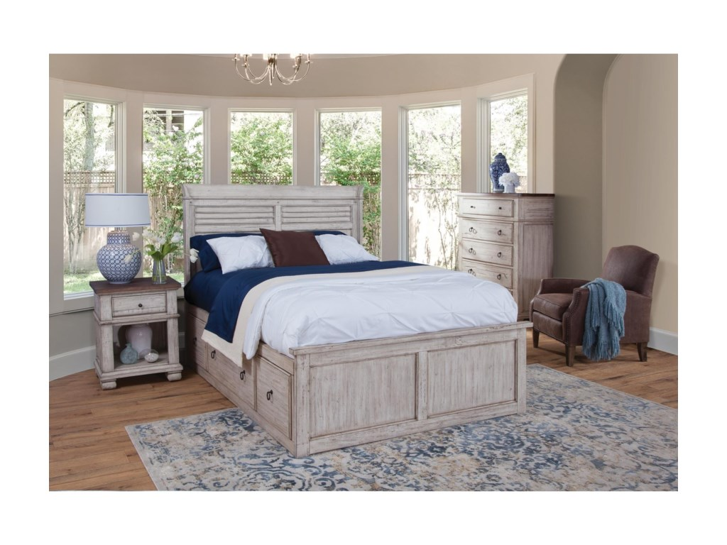 Napa Furniture Designs BelmontQueen Captains Bed