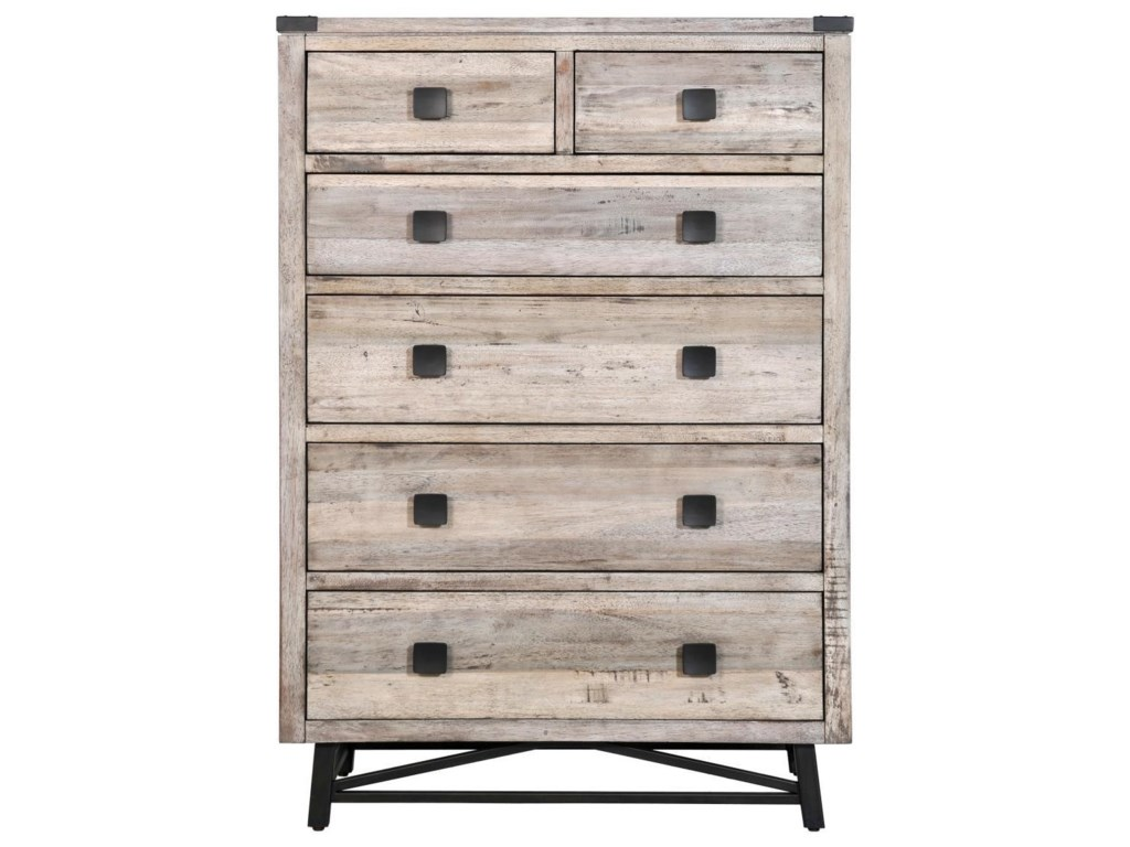 Napa Furniture Designs Brentwood6 Drawer Chest
