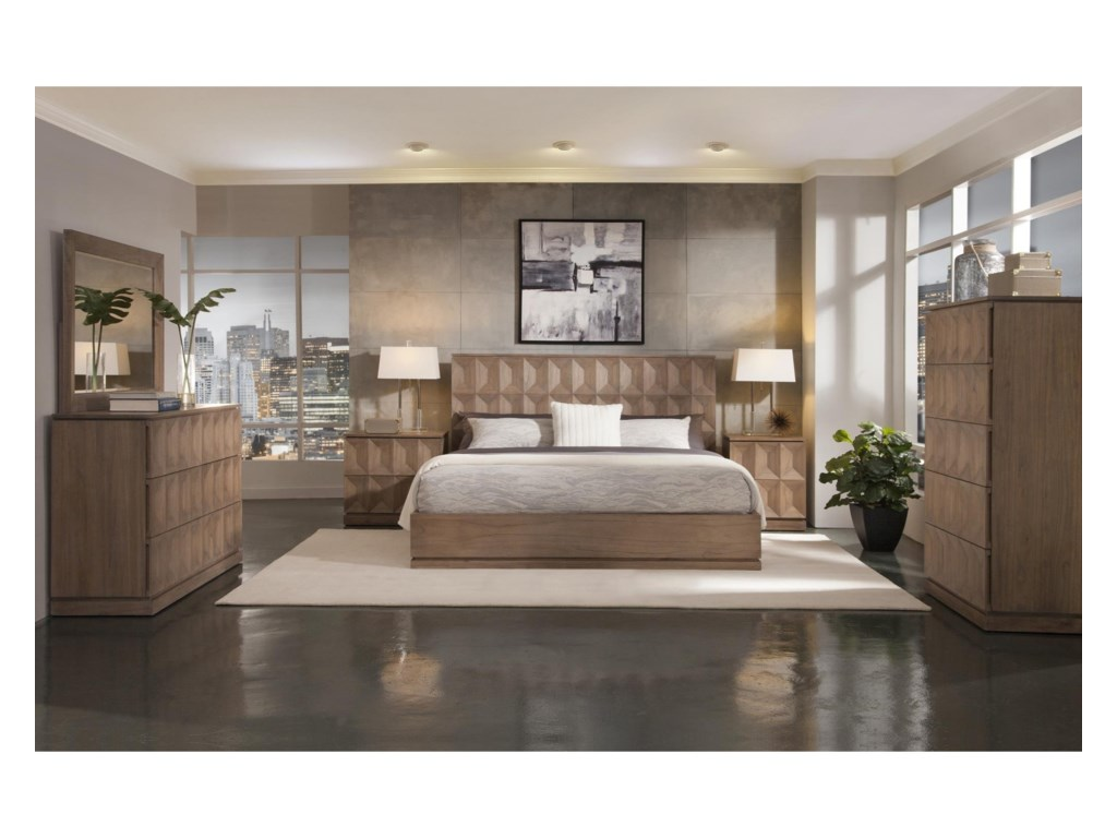 Napa Furniture Designs EastsideCalifornia King Platform Bed