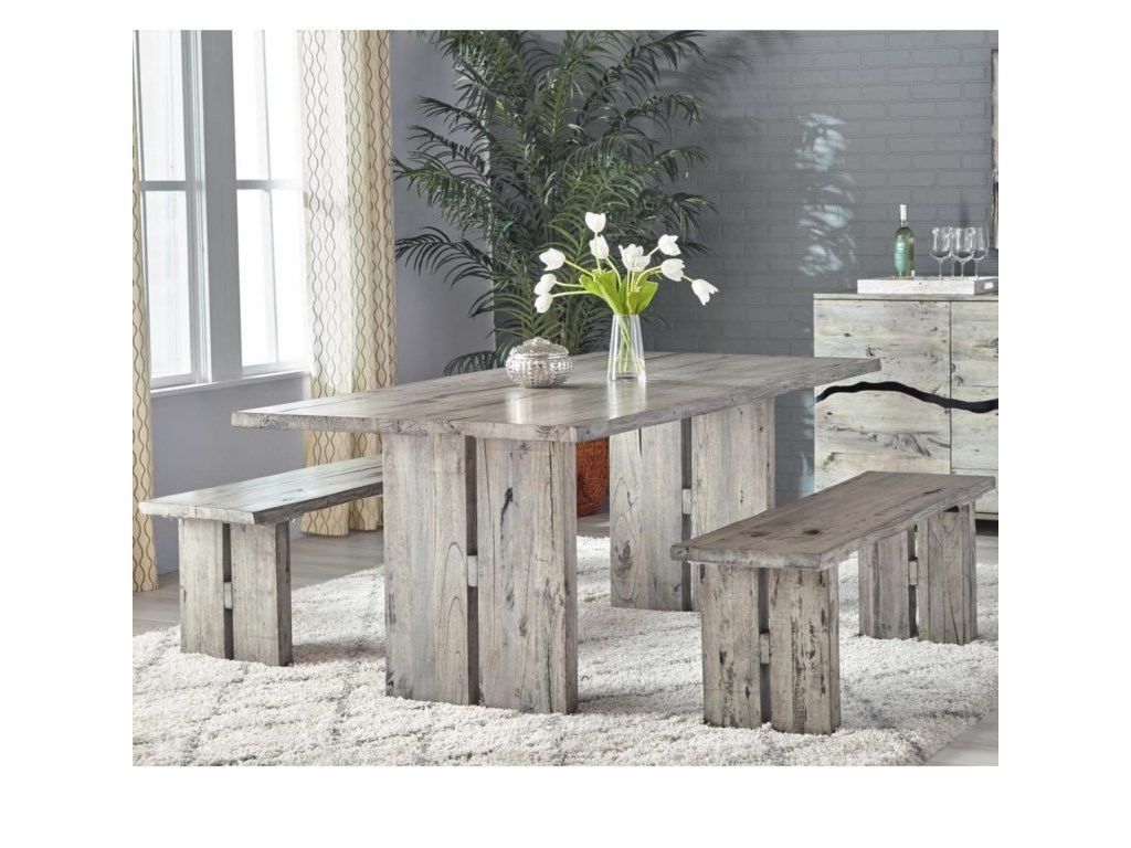 Napa Furniture Designs Renewal by Napa Rustic Dining Set with Table ...