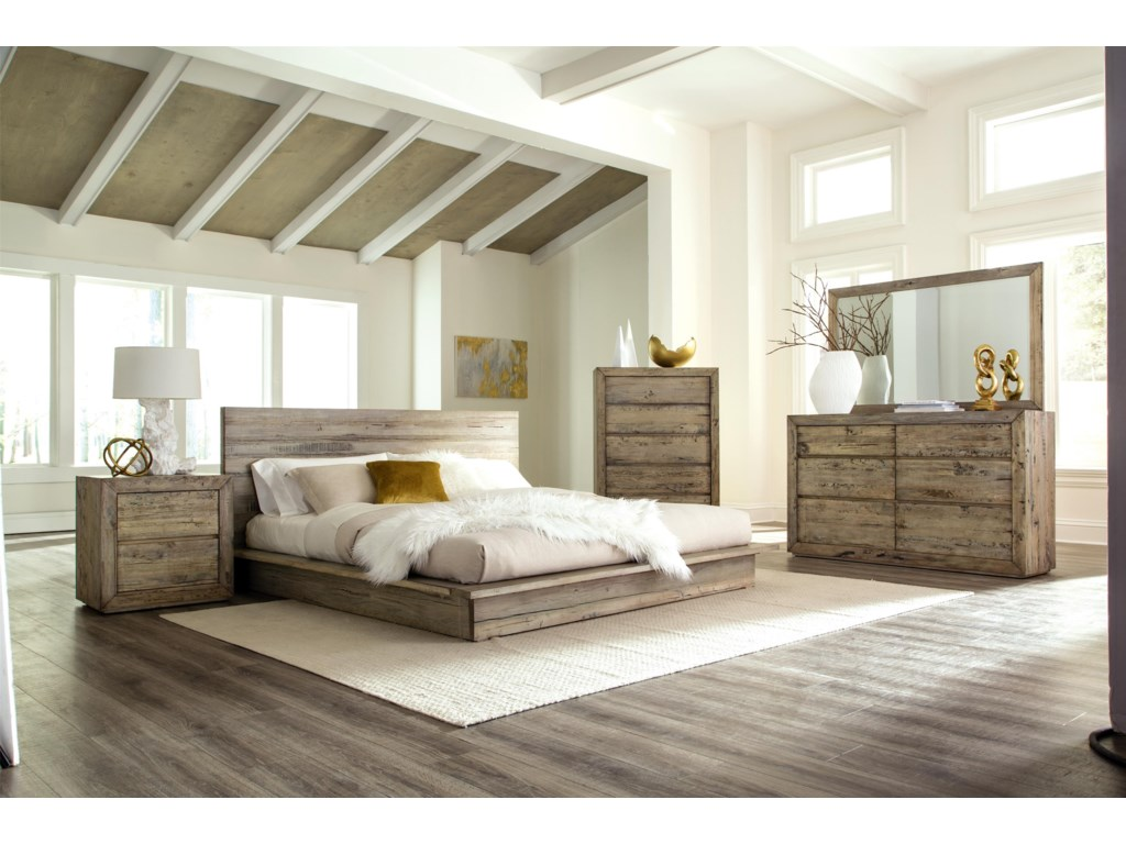 Napa Furniture Designs Renewal King Bed Homeworld Platform Beds Low Profile