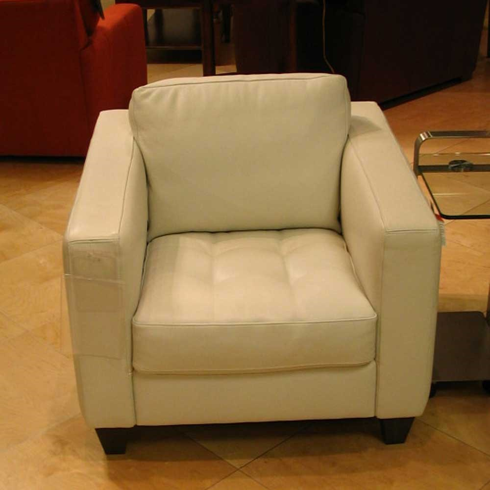 Ordinaire Natuzzi Editions A323 Leather Upholstered Chair