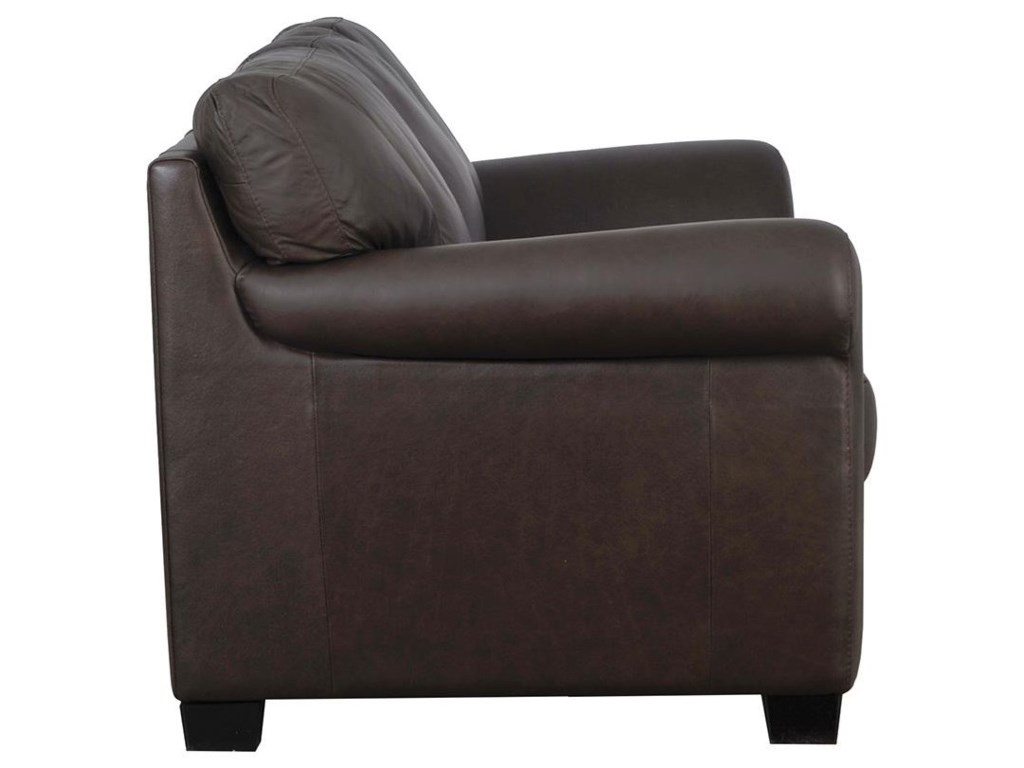 Natuzzi Editions A121Stationary Leather Sofa