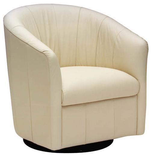 natuzzi editions natuzzi a835 066 contemporary barrel swivel chair rh baers com