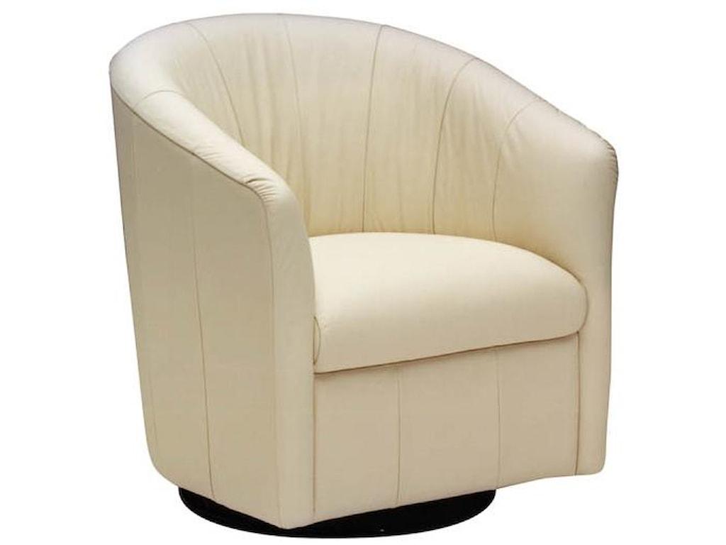 Natuzzi Editions A835Swivel Chair