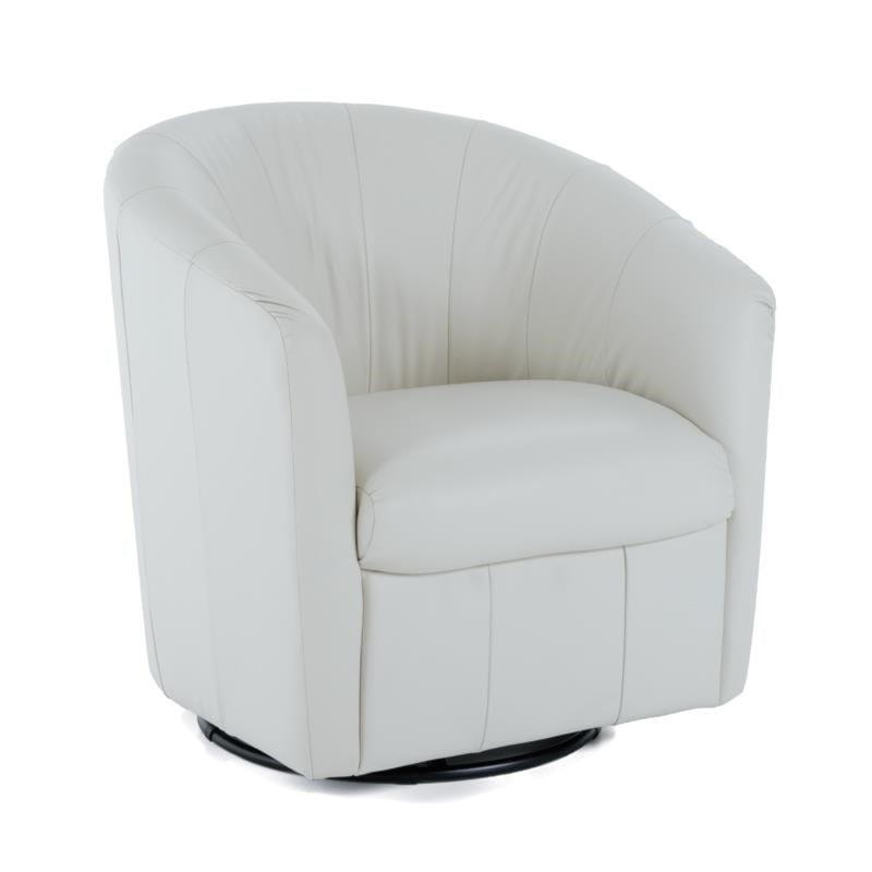 white swivel chair. Natuzzi Editions NatuzziSwivel Chair White Swivel