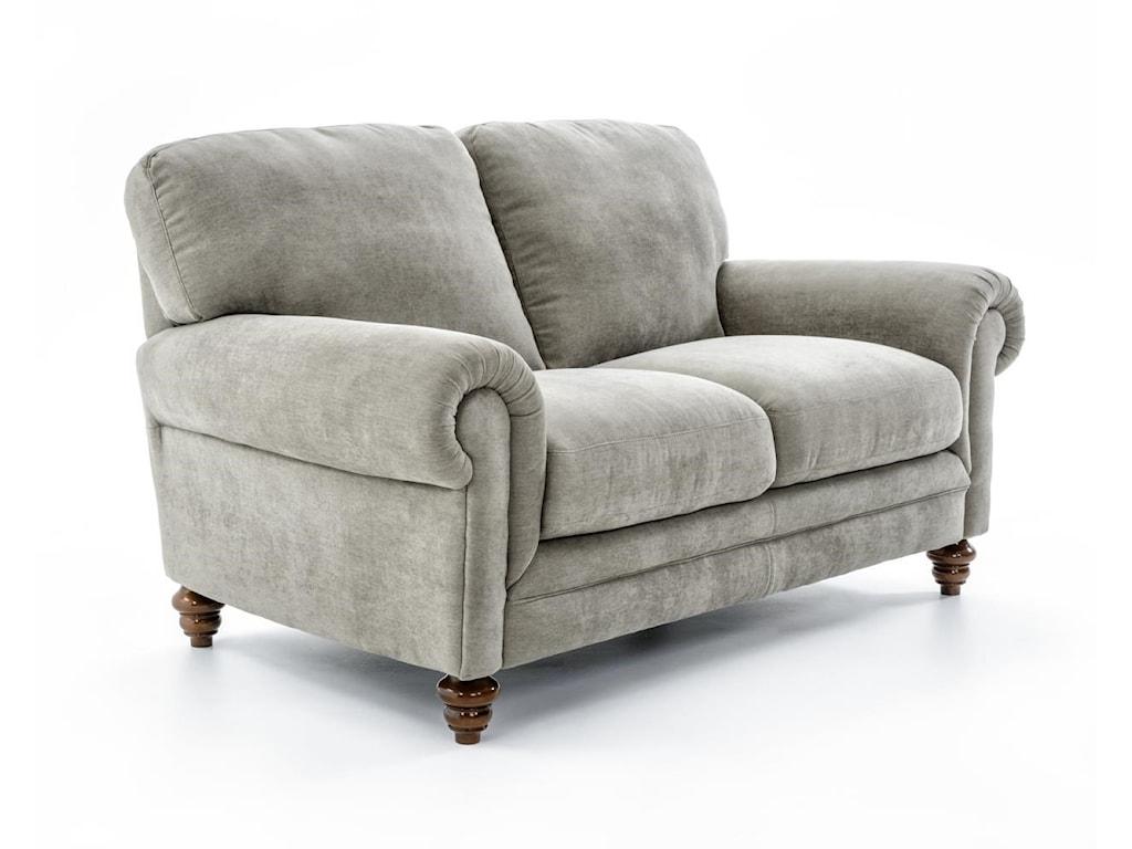 Natuzzi Editions A855Love Seat