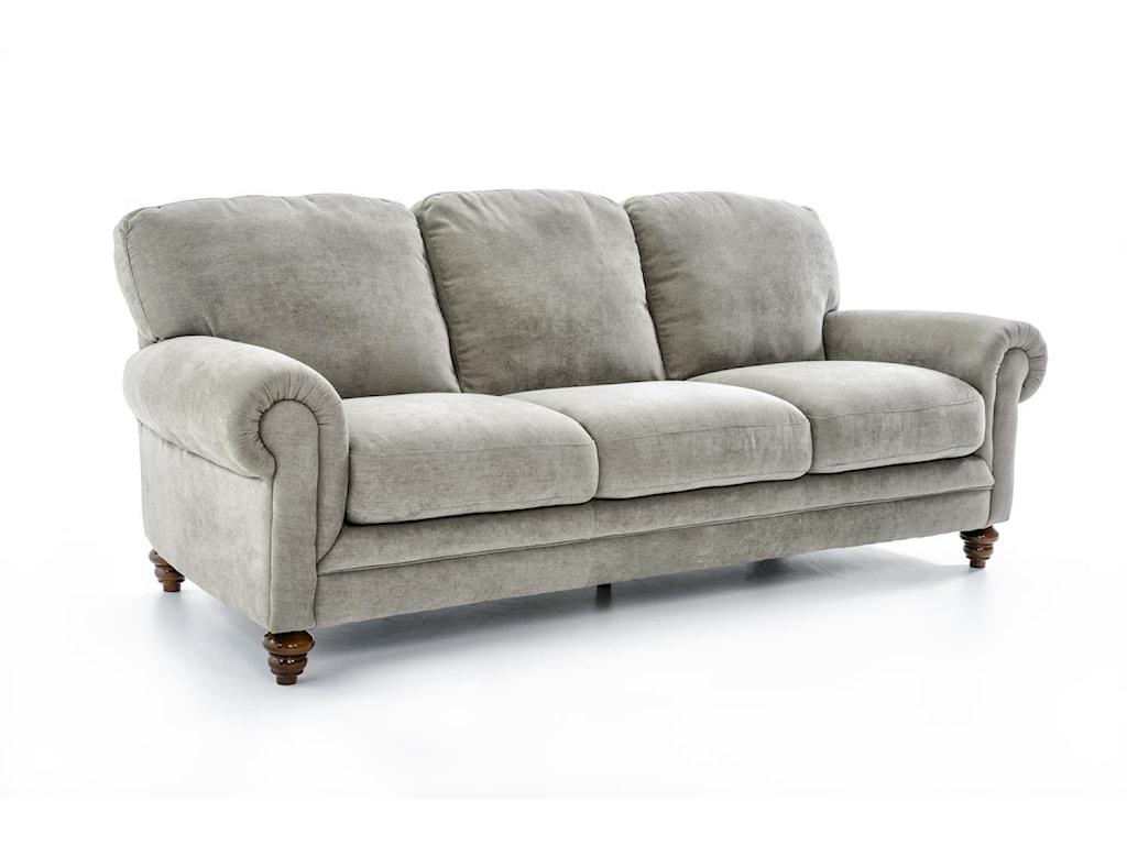 Natuzzi Editions A855Upholstered Sofa