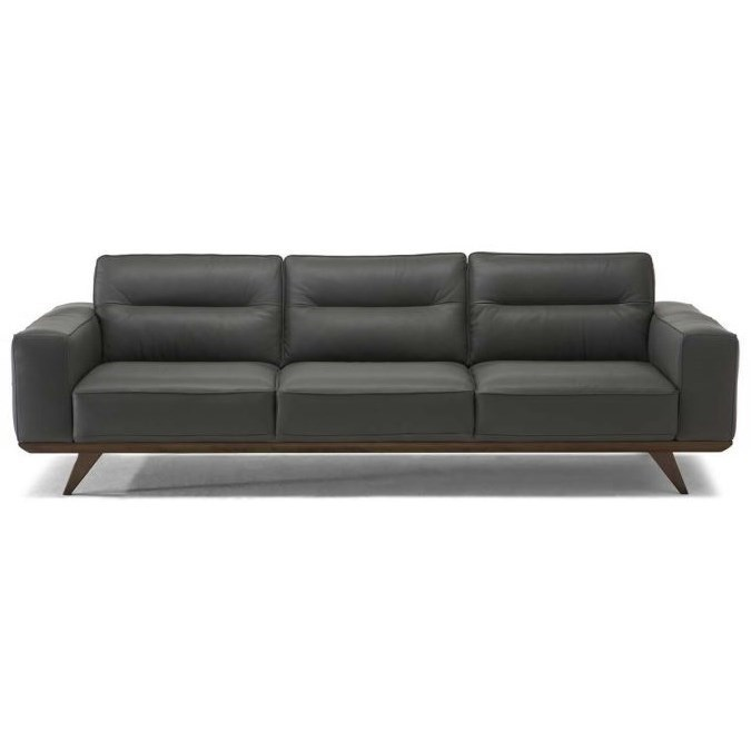 Natuzzi Editions Achille Contemporary Sofa With Splayed Legs