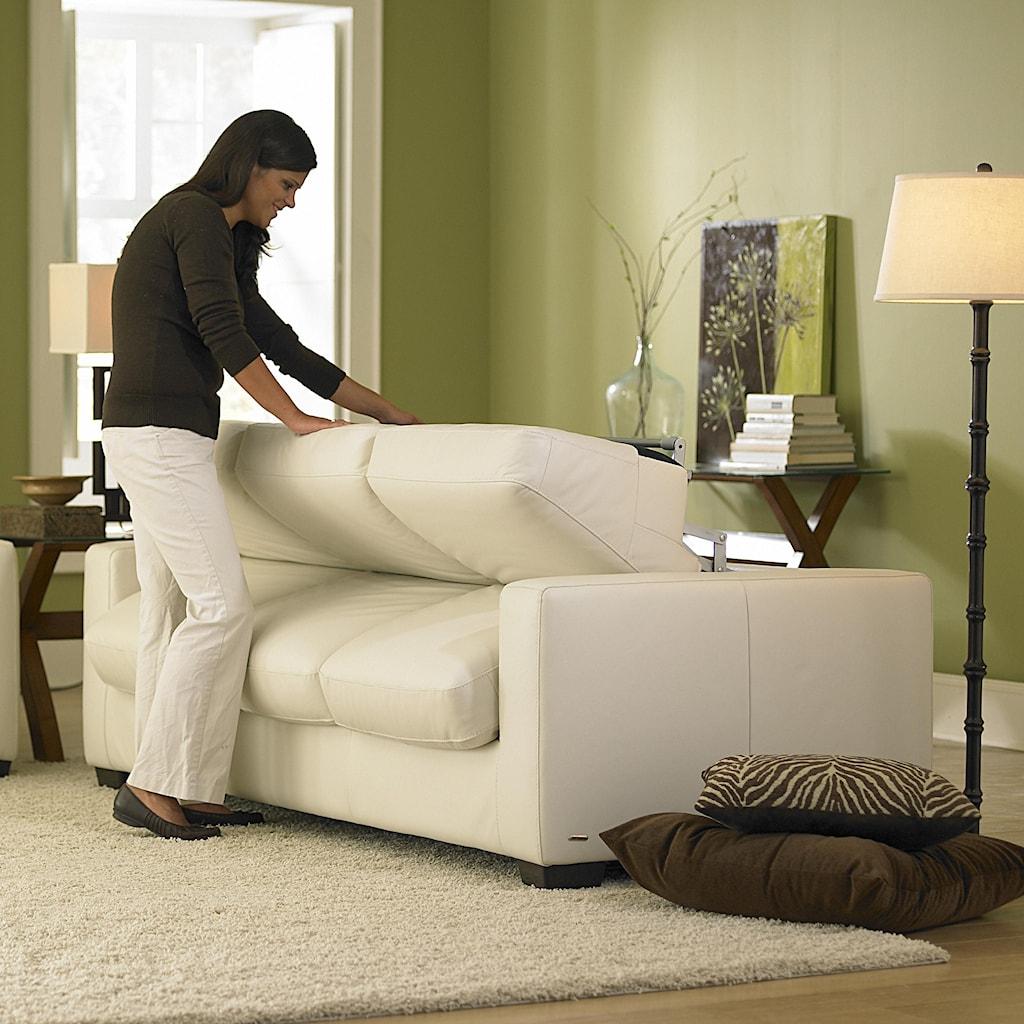 Natuzzi Editions B534 Queen Sleeper Sofa Baer s Furniture