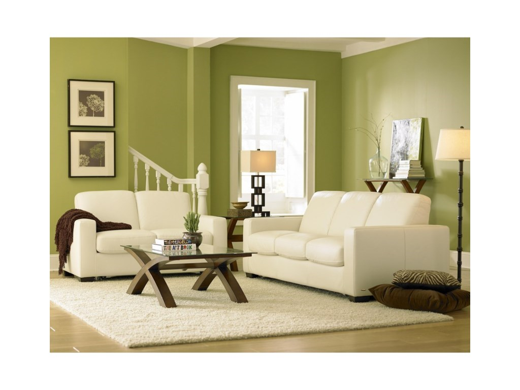 Natuzzi Editions B534Stationary Sofa