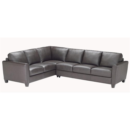 Natuzzi Editions B592 2 Piece Sectional