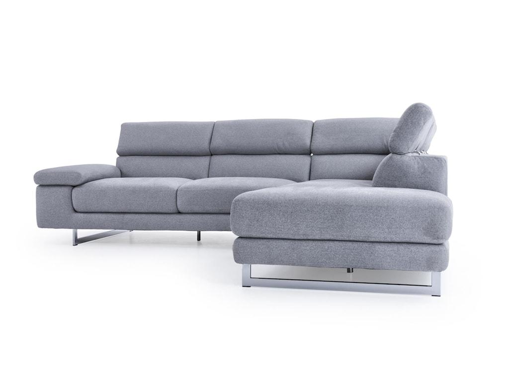Natuzzi Editions B6193 Pc Sectional Sofa