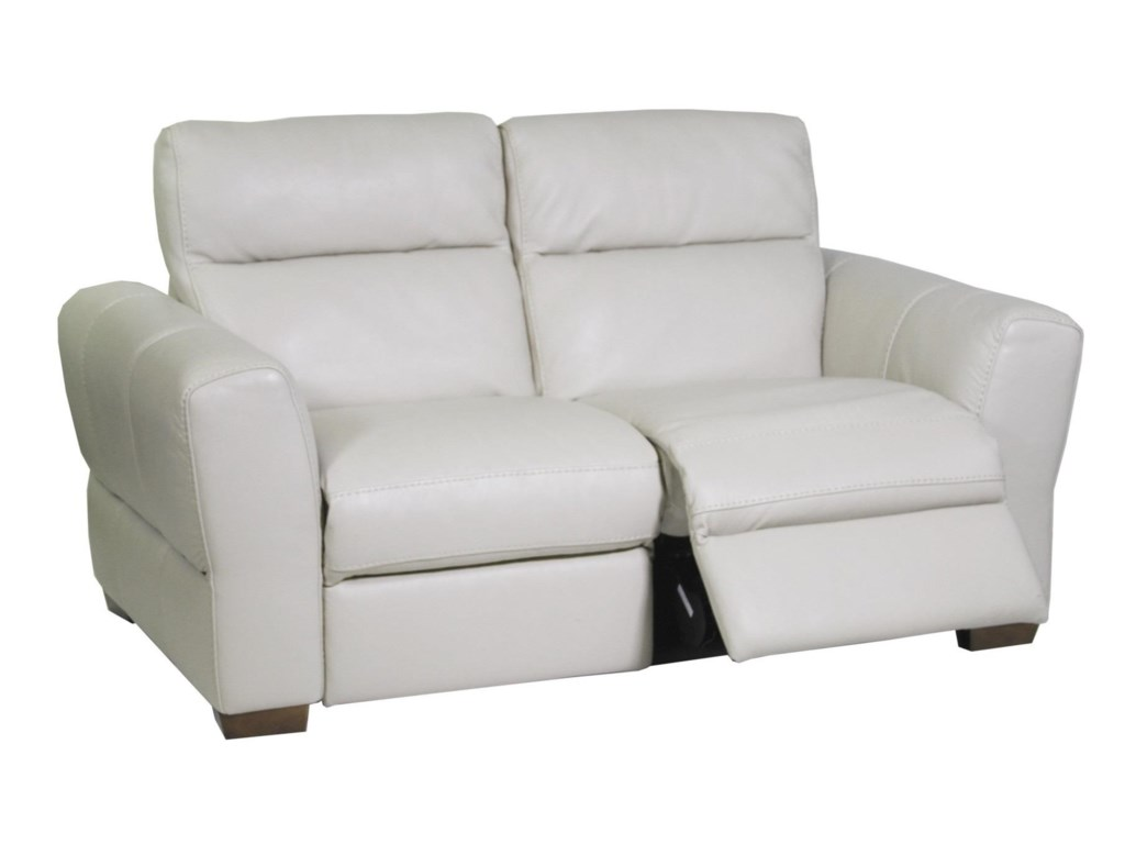 Natuzzi Editions RiminiPower Reclining Loveseat