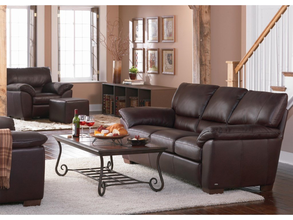 Shown With Coordinating Ottoman and Sofa