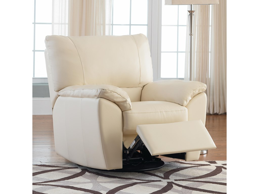 Natuzzi Editions B632leather Recliner
