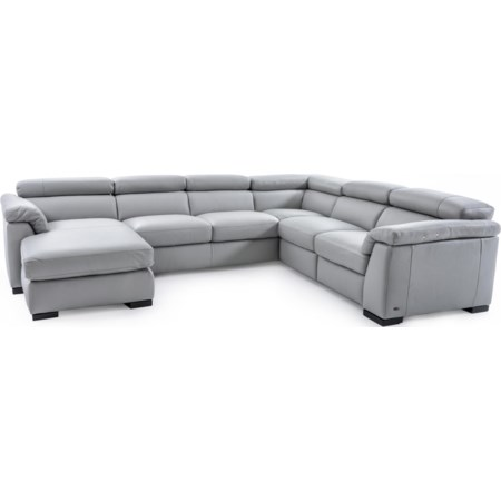 Sectional Sofa w/ Power Recline