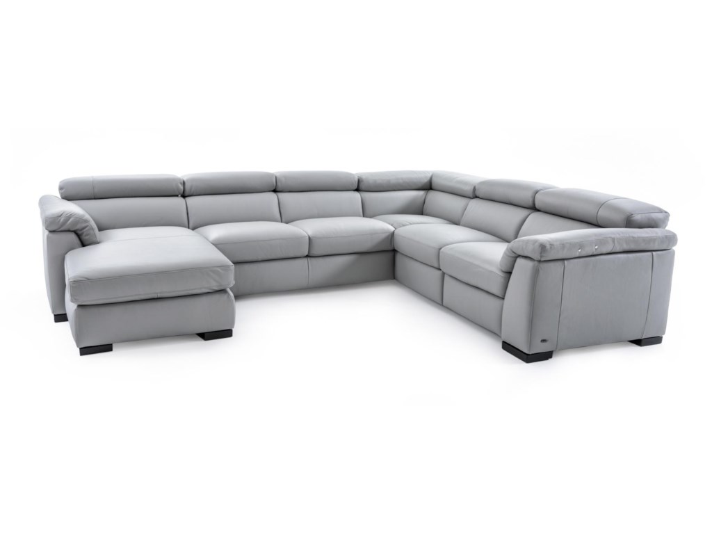 Leather Sectional Sofa With Power Recliners Review Home Co