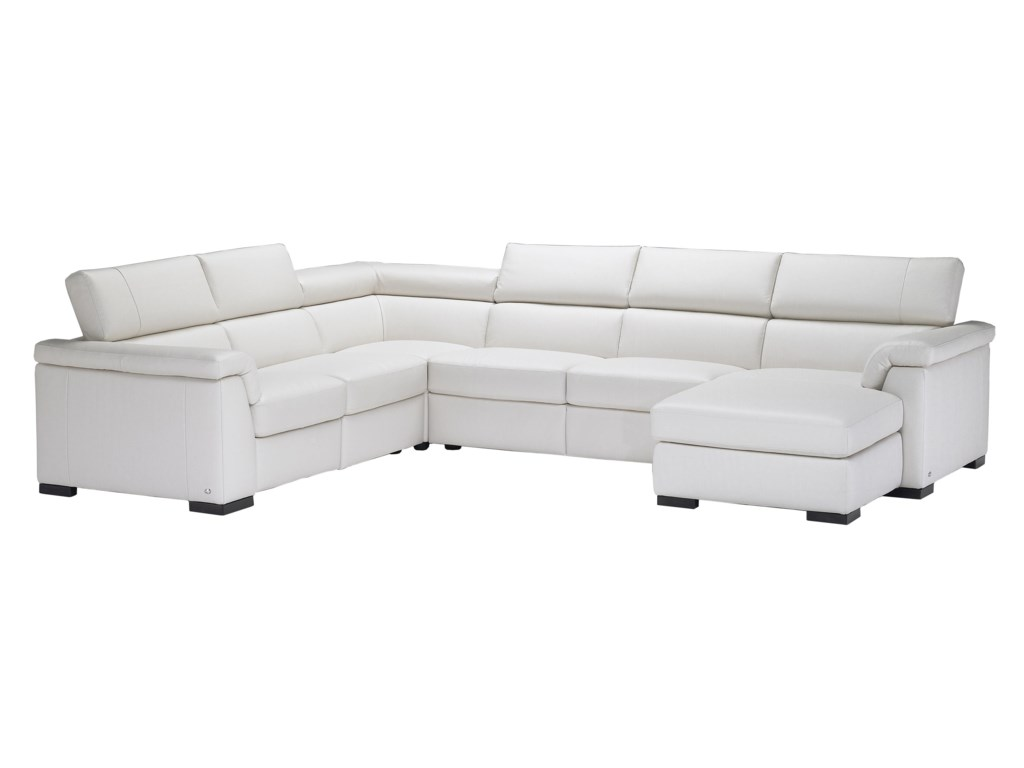 Natuzzi Editions B634reclining Sectional Sofa
