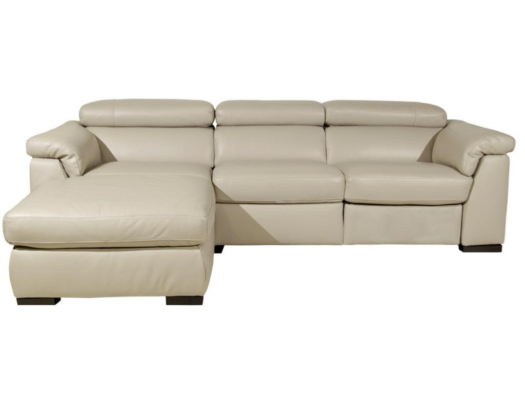 Natuzzi Editions Tommaso Reclining Sectional
