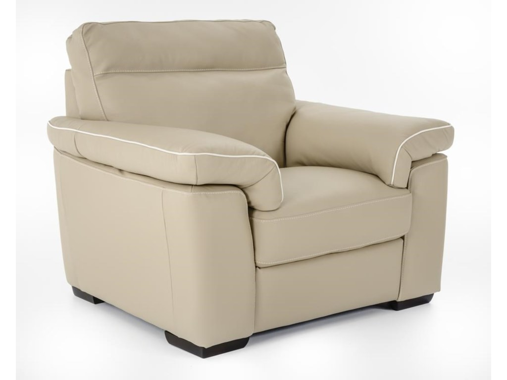Natuzzi Editions B757Chair and a half