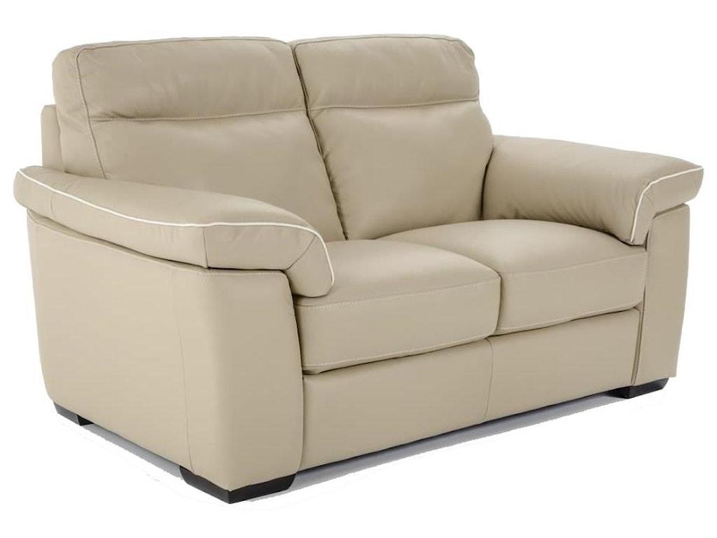 Natuzzi Editions B757Power Reclining Love Seat