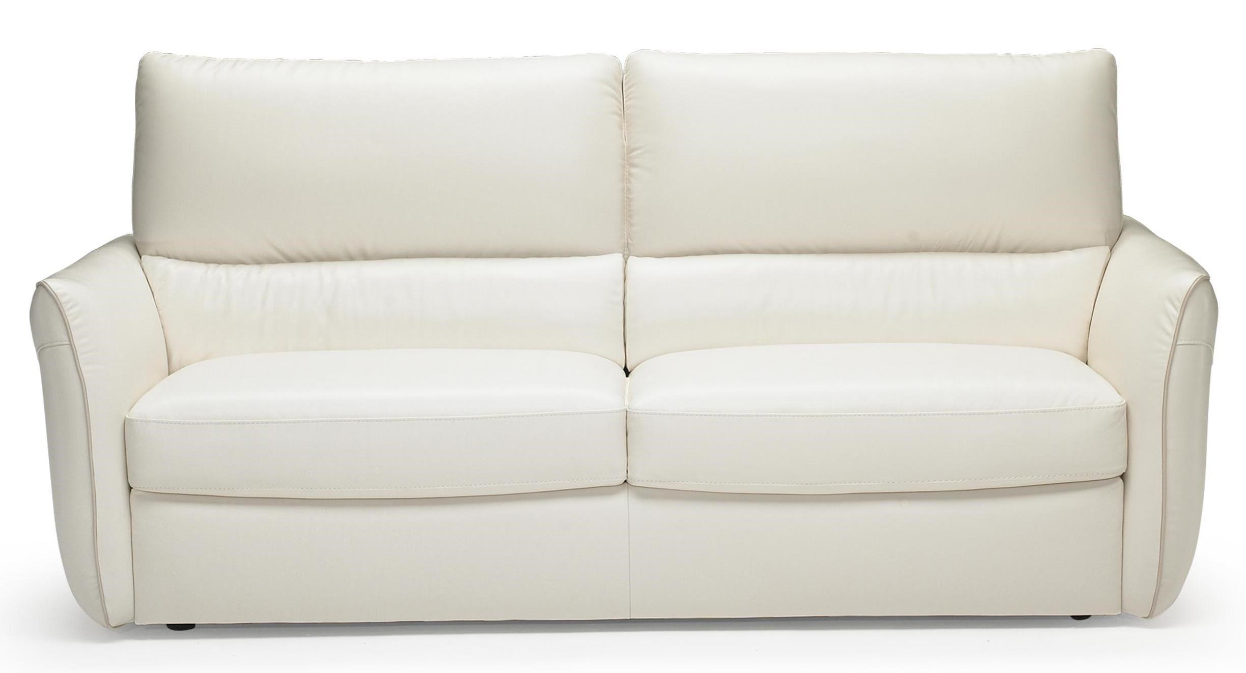 Natuzzi Editions B842 Modern Two Cushion Sofa