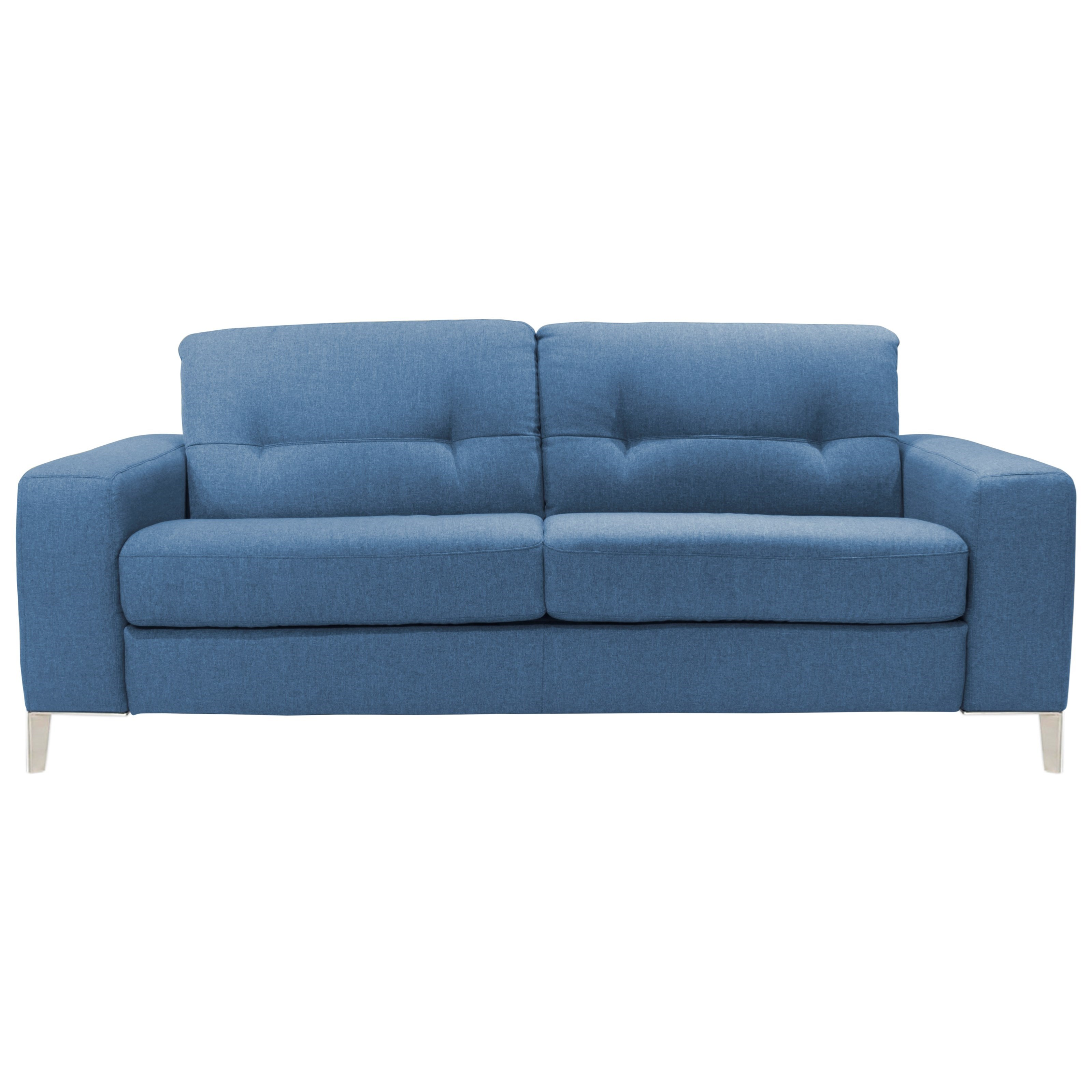 - Natuzzi Editions Valerio Contemporary 2 Cushion Sleeper Sofa With