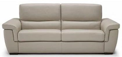 B933 Contemporary Sofa Sleeper With Pillow Arms And Block Feet By Natuzzi  Editions