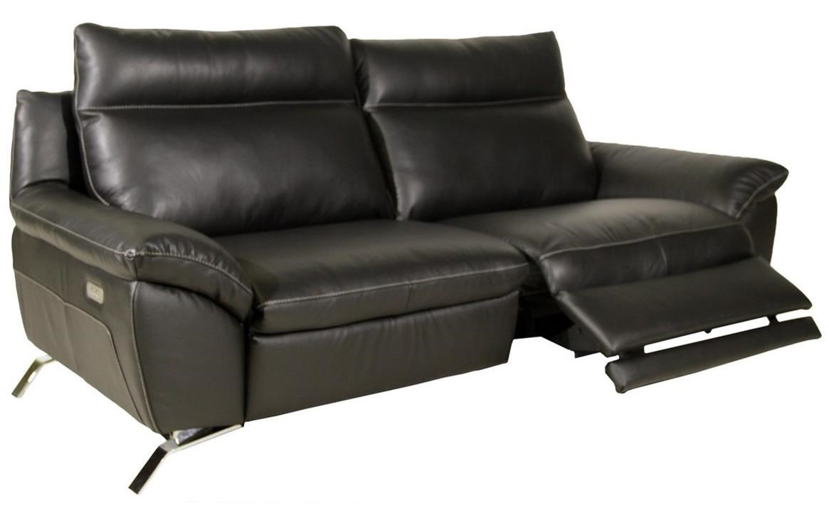Bon B943 Contemporary Reclining Sofa With Pillow Arms By Natuzzi Editions