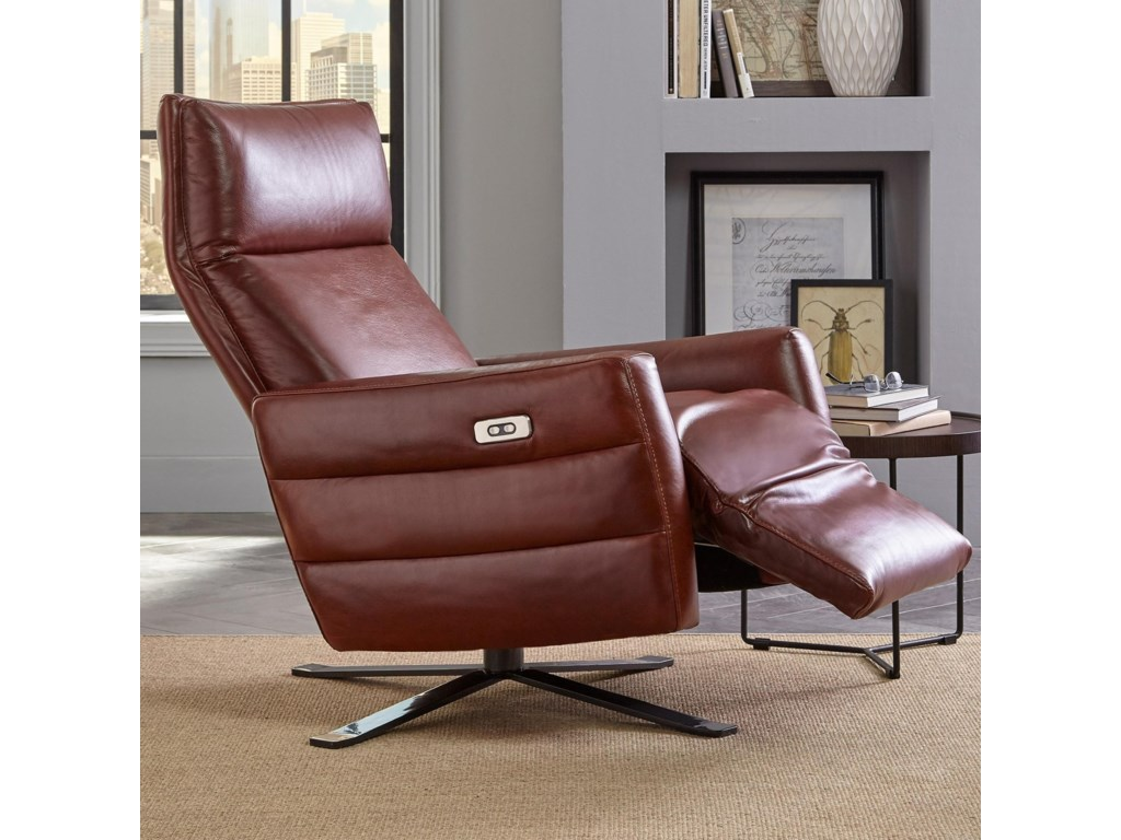 Natuzzi Editions B958Power Recliner with Battery Pack