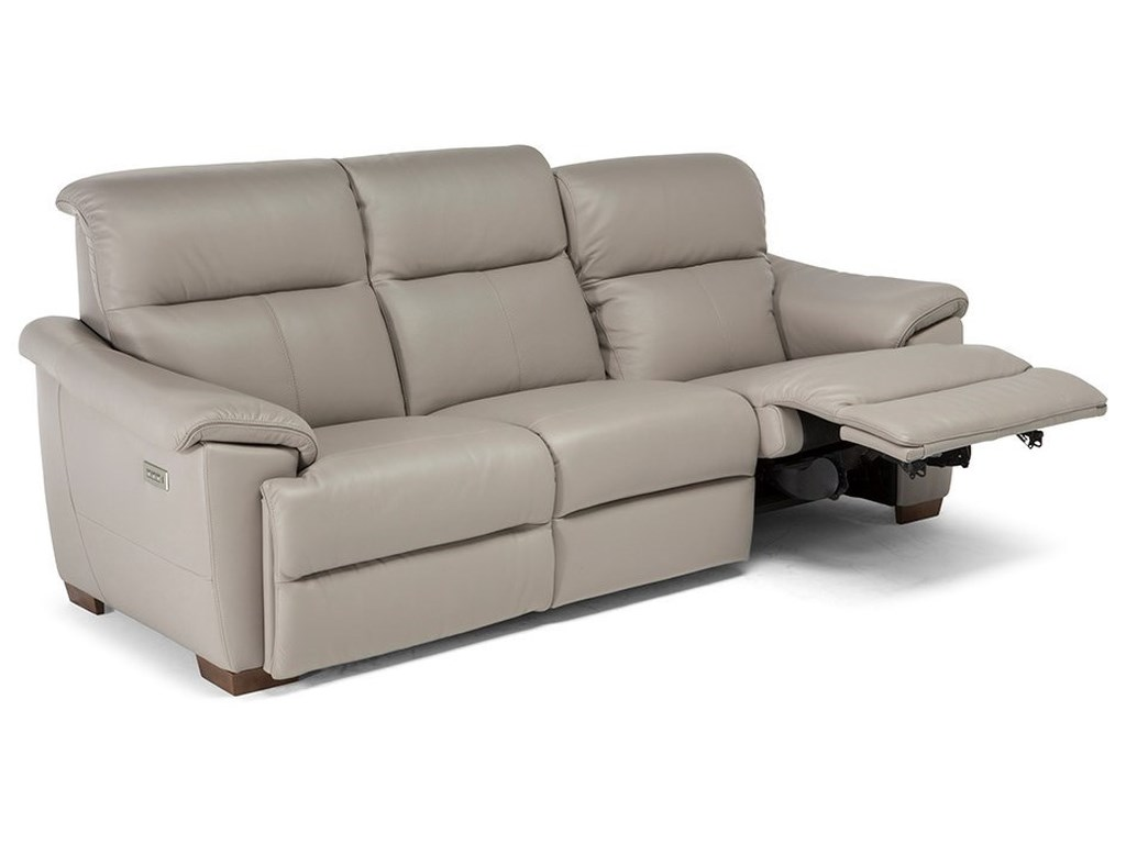 Natuzzi Editions Potenza Contemporary Wall Hugger Power Reclining