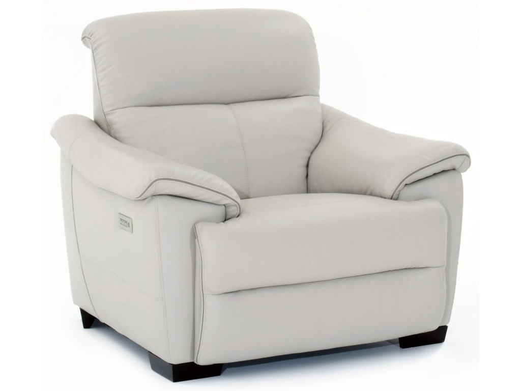 Natuzzi Editions PotenzaWall Hugger Power Recliner