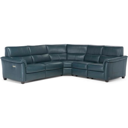 5 Pc Reclining Sectional Sofa