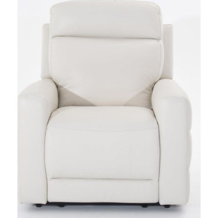 Leather Power Reclining Chair