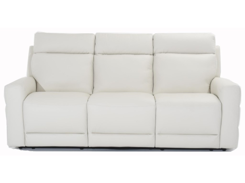 Benevolo Leather Power Reclining Sofa by Natuzzi Editions at Baer\'s  Furniture