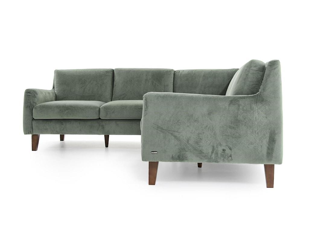 Natuzzi Editions Catullo3 Pc Sectional Sofa