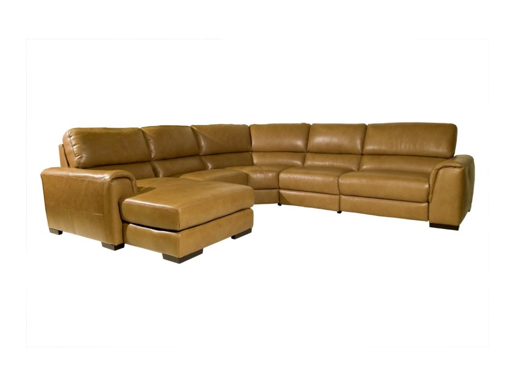 Natuzzi Editions DavidePower Reclining Sectional Sofa