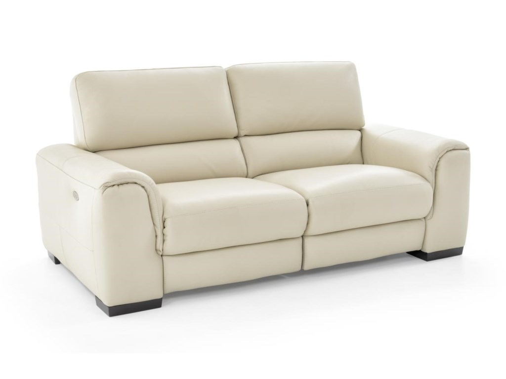 Natuzzi Editions DavidePower Reclining Loveseat